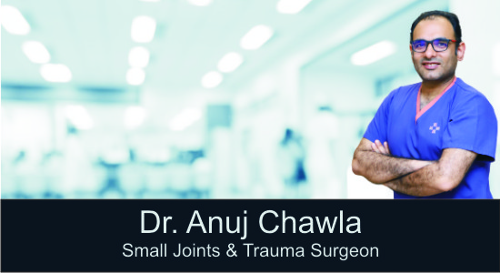 Dr Anuj Chawla, Best Foot Ankle Surgeon, Foot Ankle Arthroscopic Surgeon, Orthopaedic Surgeon, Sethi Hospital Gurgaon